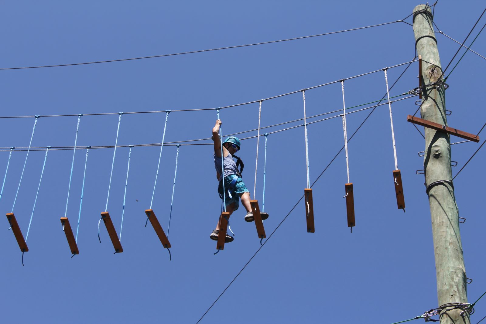 High Ropes Course Team Building Activity