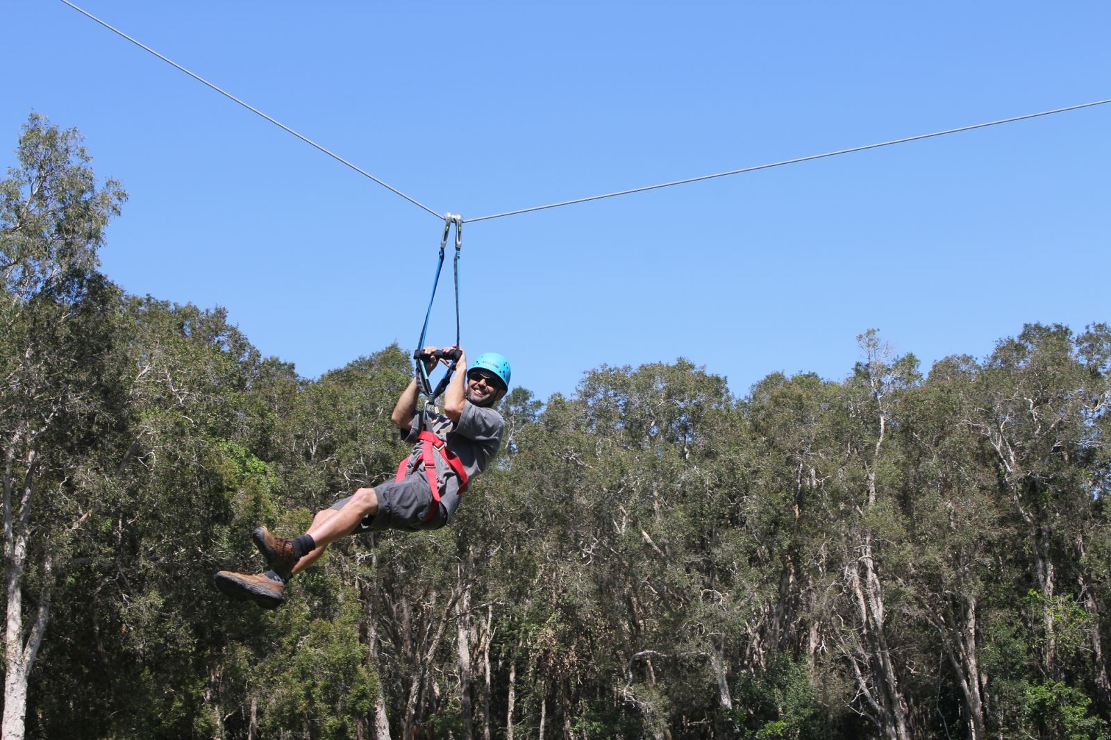 Twin Flying Fox Team Building Activity