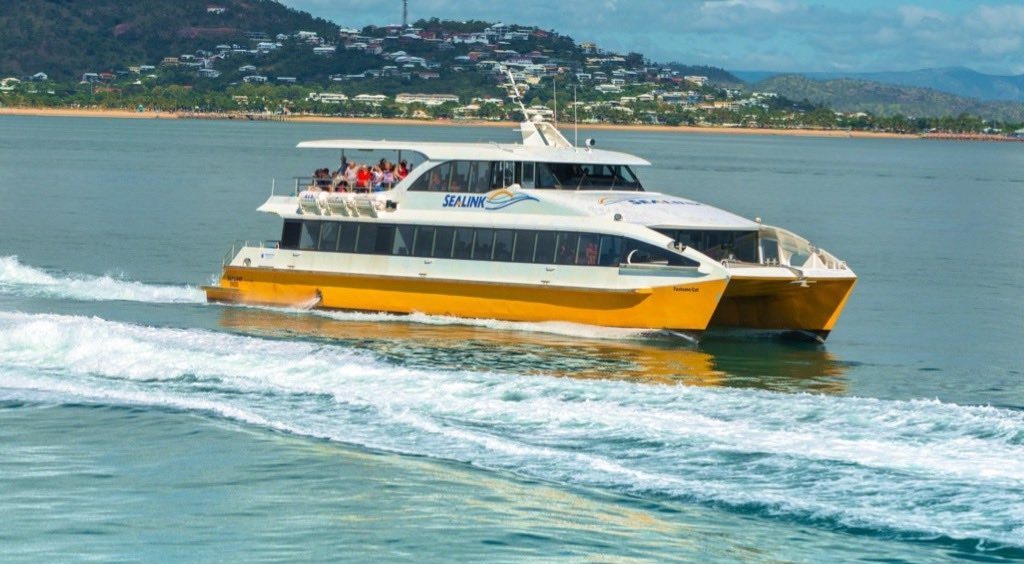Fast ferry suitable for events and accommodation away from downtown Townsville