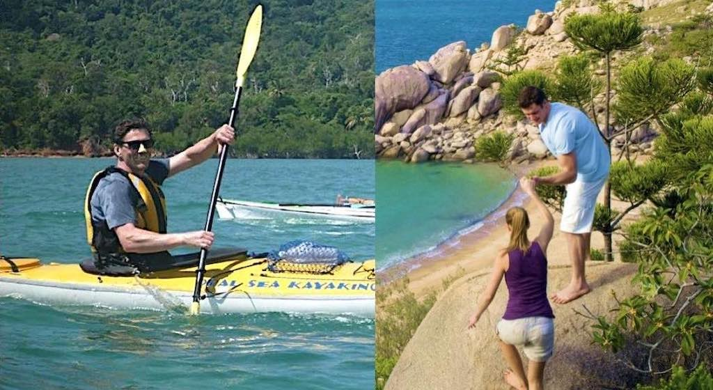 Water and land activities for groups staying on Magnetic Island